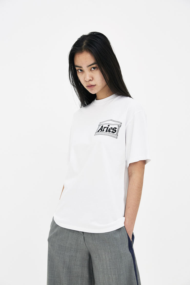 Aries White Vulture SS Tee new arrivals spring summer collection s/s 18 2018 machine a showstudio arise womens top t-shirt