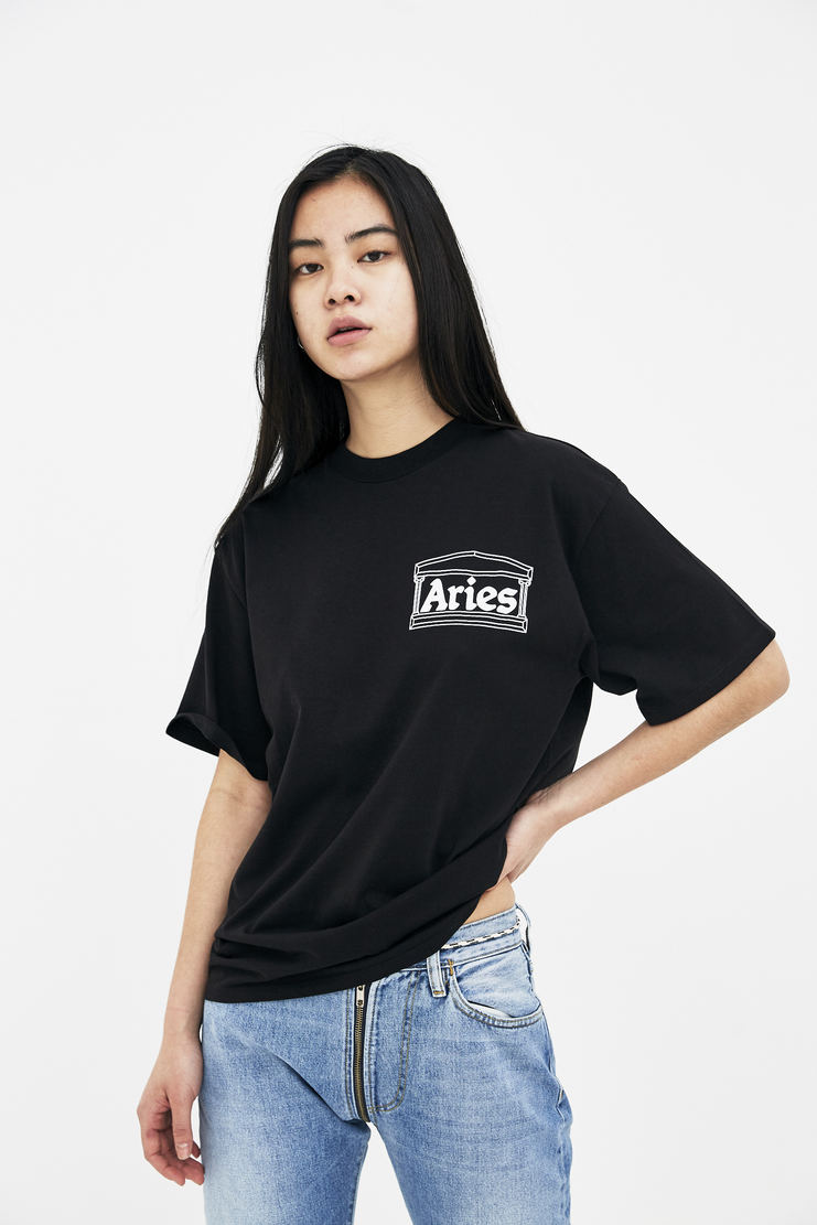 Aries Black Vulture SS Tee new arrivals spring summer collection s/s 18 2018 machine a showstudio arise womens t-shirt