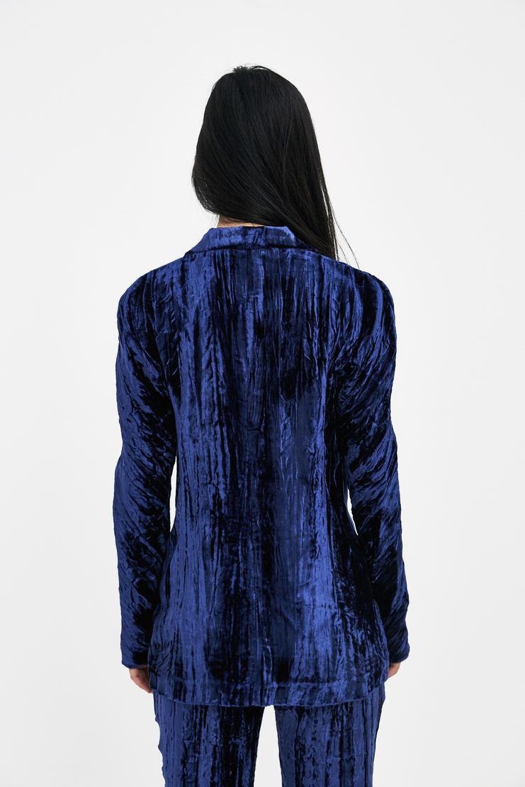 DELADA Blue Caribbean Tailored Blazer S/S 18 ss18 spring summer collection DWS3BLZ01 Machine A SHOWstudio womens jackets