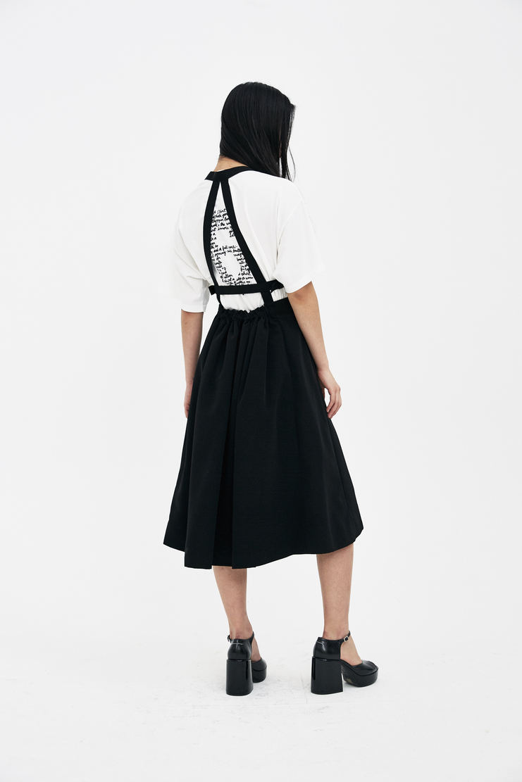 Noir Kei Ninomiya Ladies Jumper Skirt S/S 10 Spring summer 2018 SHOWstudio Machine A womens 3A-A005-S18 skirts jumpsuit