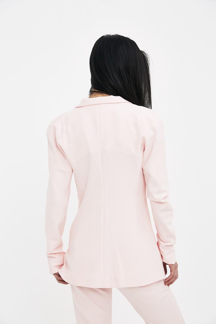 DELADA Baby Pink Tailored Blazer S/S 18 spring summer collection DWS3BLZ01 Machine A SHOWstudio womens jackets