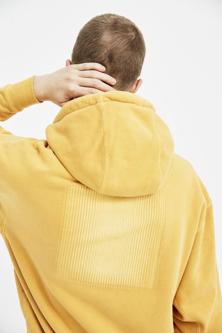 Cav Empt Orange Overdye Heavy Hoodie S/S 18 spring summer collection Machine A SHOWstudio mens CES13C14 hoodies sweater jumper