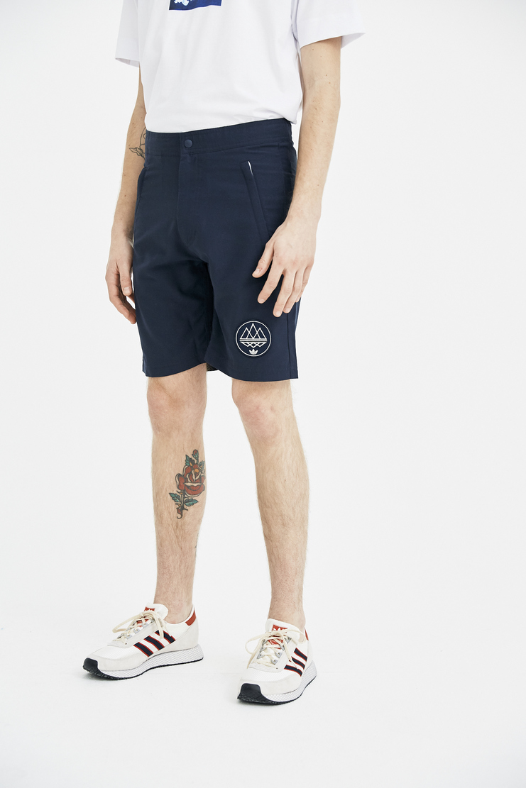 Adidas Spezial Black Instak Shorts S/S 18 spring summer collection Machine A SHOWstudio mens short trousers pant CF7300