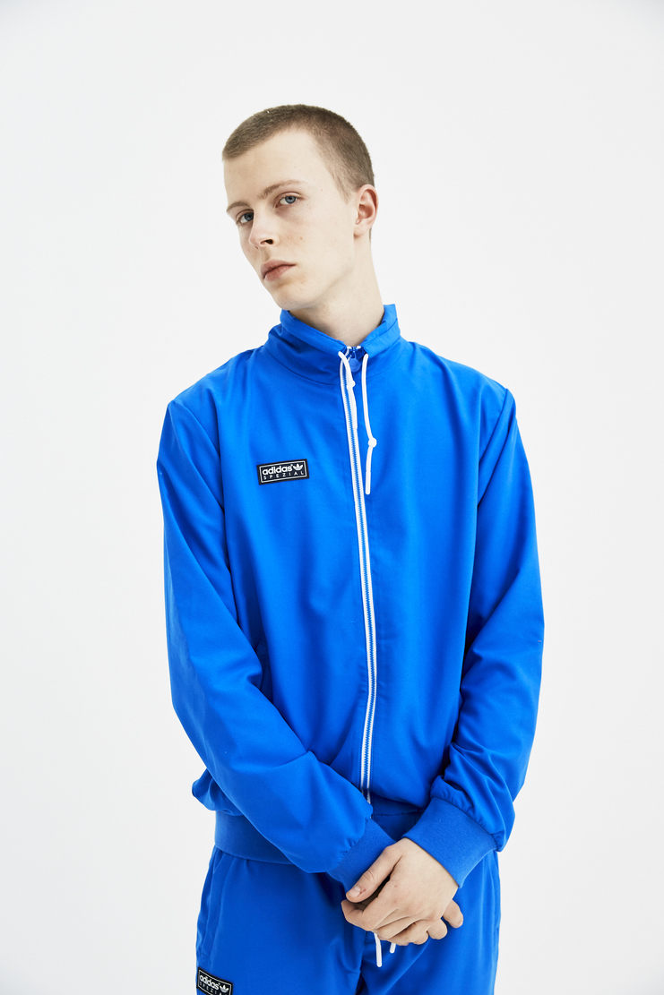 Adidas Spezial Blue Beckenbauer Jacket S/S 18 spring summer collection Machine A SHOWstudio mens track jacket CF7296