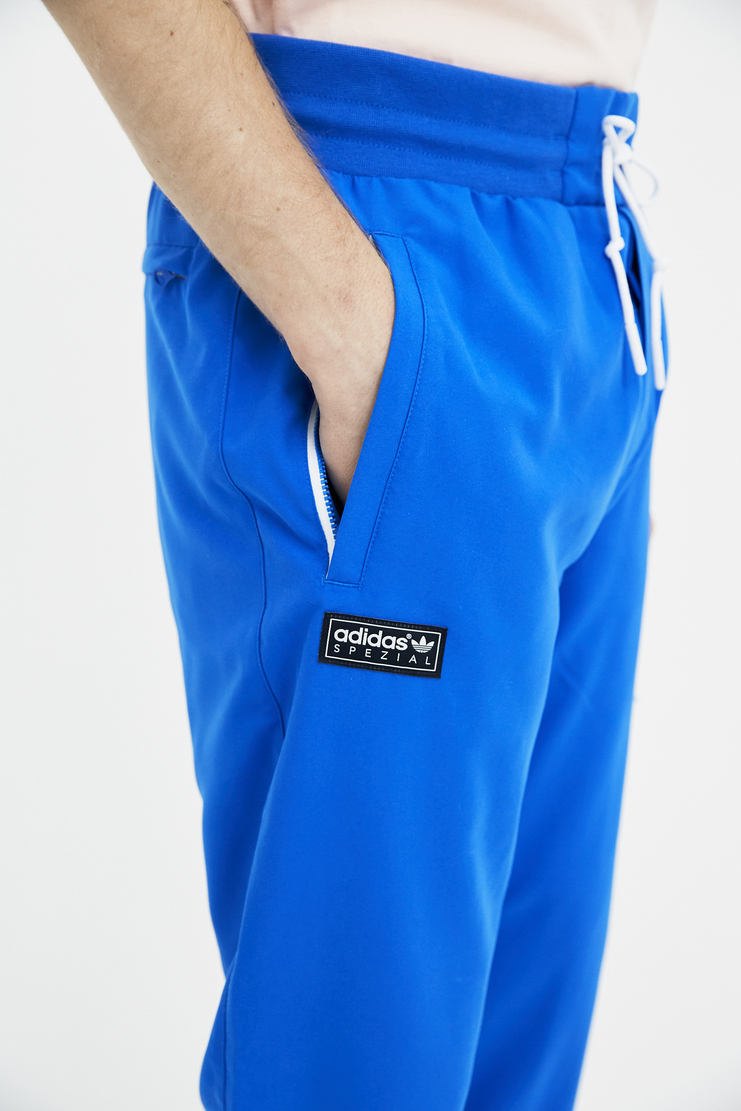 Adidas Spezial Blue Cardle Track Pants S/S 18 spring summer collection Machine A SHOWstudio mens short trousers pant CF7297