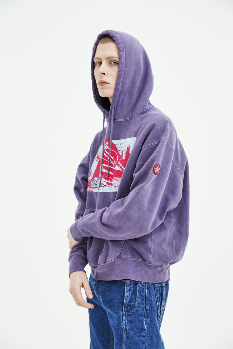 Cav Empt Own / Control Heavy Hoodie S/S 18 spring summer collection Machine A SHOWstudio mens CES13C11 hoodies sweater jumper