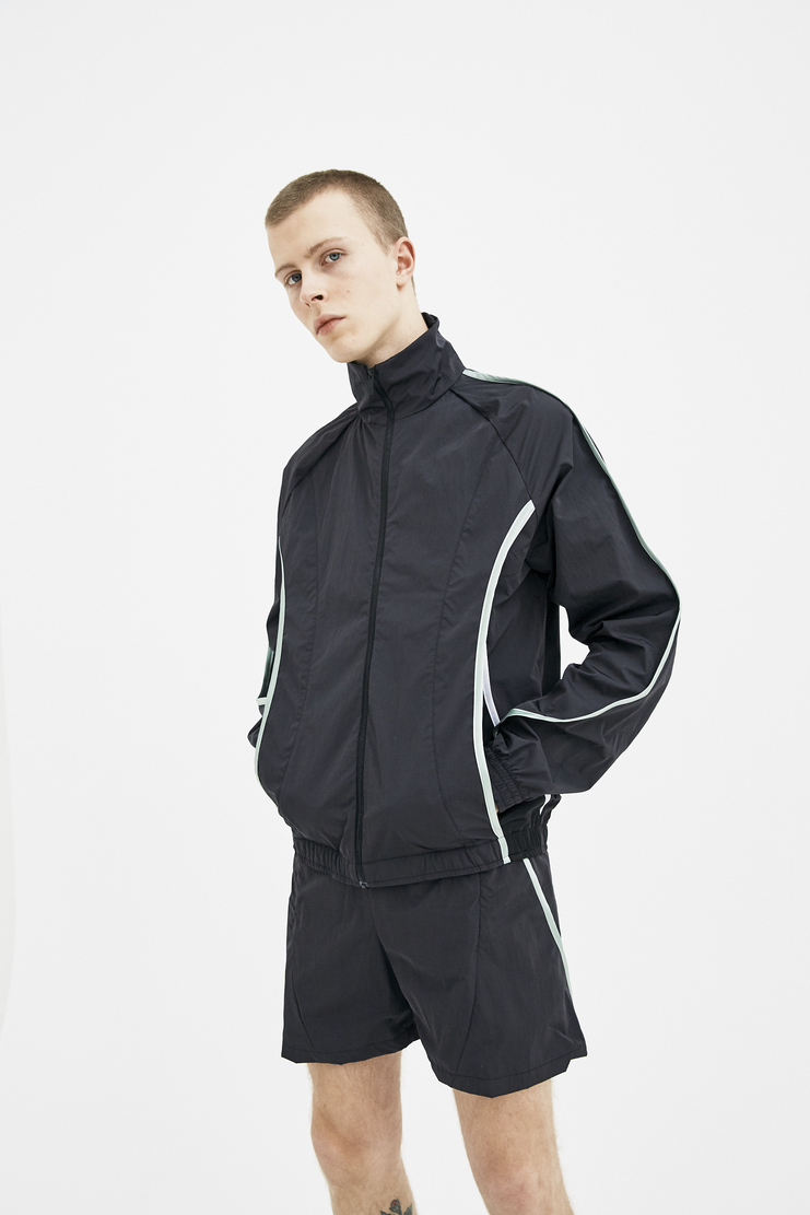 COTTWEILER Signature Track Top 2.0 black green Tracksuit Track Sportswear cott weiler jacket zip sports windproof spring summer ss17