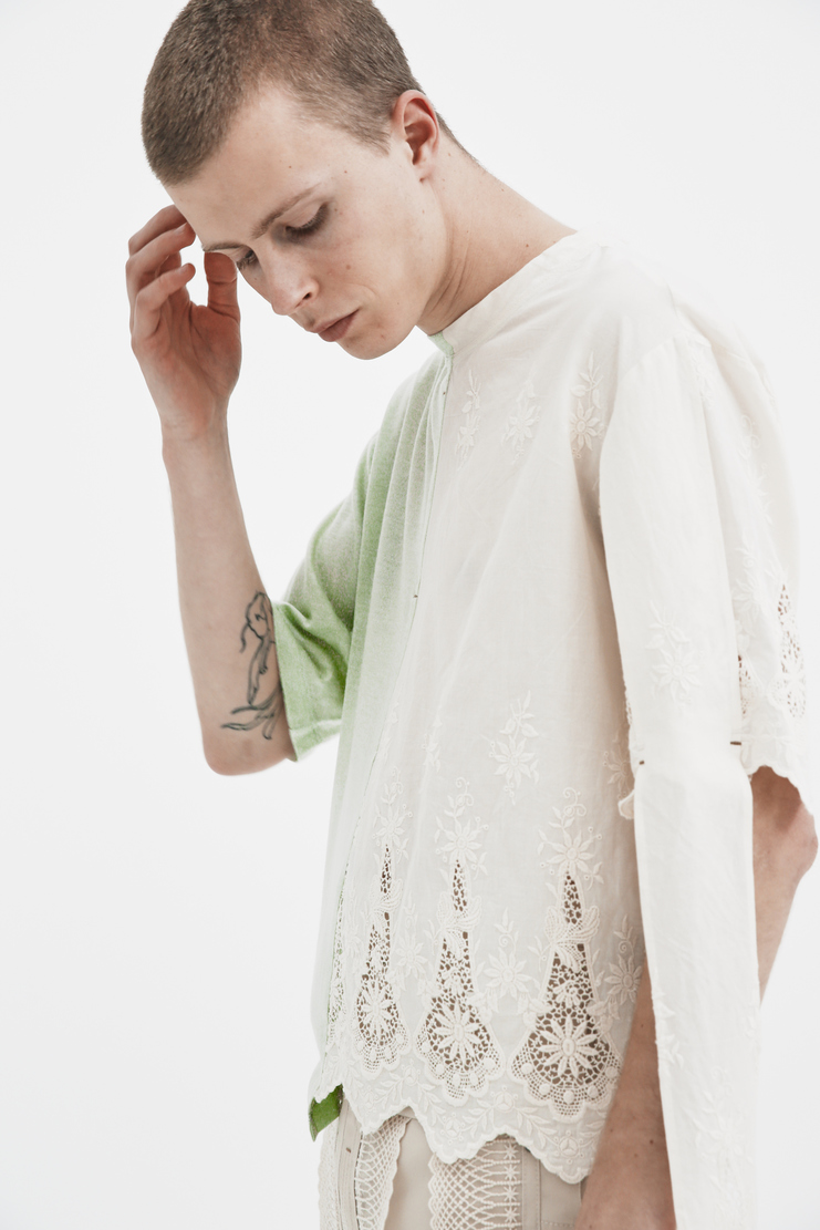 The Sirius Advanced Lace Shirt ss18 spring summer 2018 white lace top tshirt tee korea korean