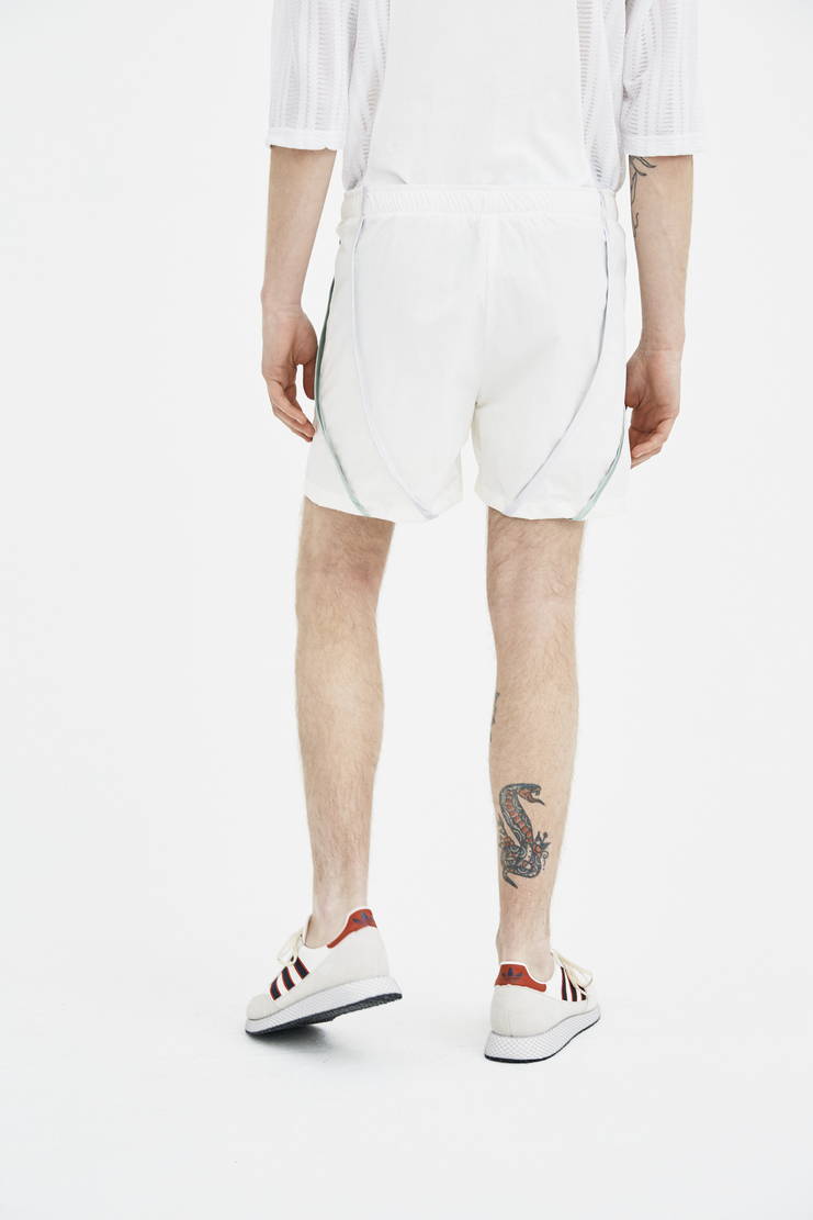 COTTWEILER Signature Track Shorts 2.0 white sage stripe tracksuit spring summer elastic ss18 s/s 18 machine a CWST28