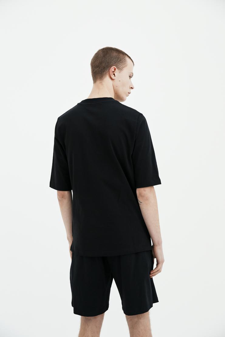 COTTWEILER dryland T-shirt cotton lizard embroidered spring summer desert ss18 s/s 18 CWT45 machine a black