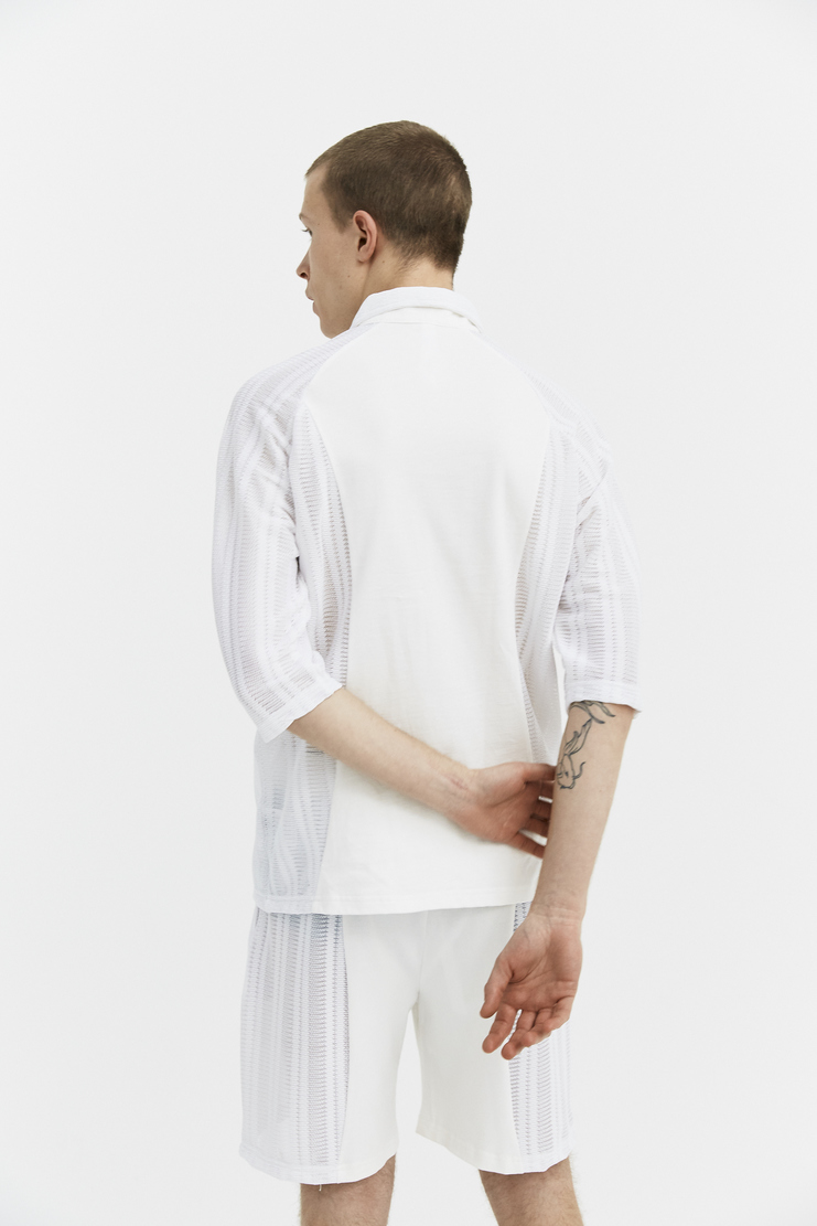 COTTWEILER Ivory R.V. Polo Sportswear cott weiler jacket zip sports windproof spring summer ss18
