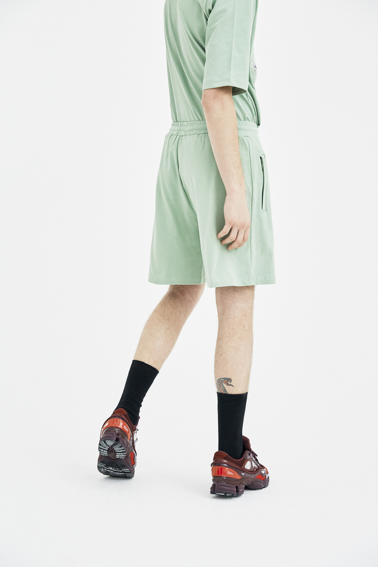 COTTWEILER Sage Dryland Shorts cotton lizard embroidery embroidered spring summer ss18 s/s 18 machine a CWST26