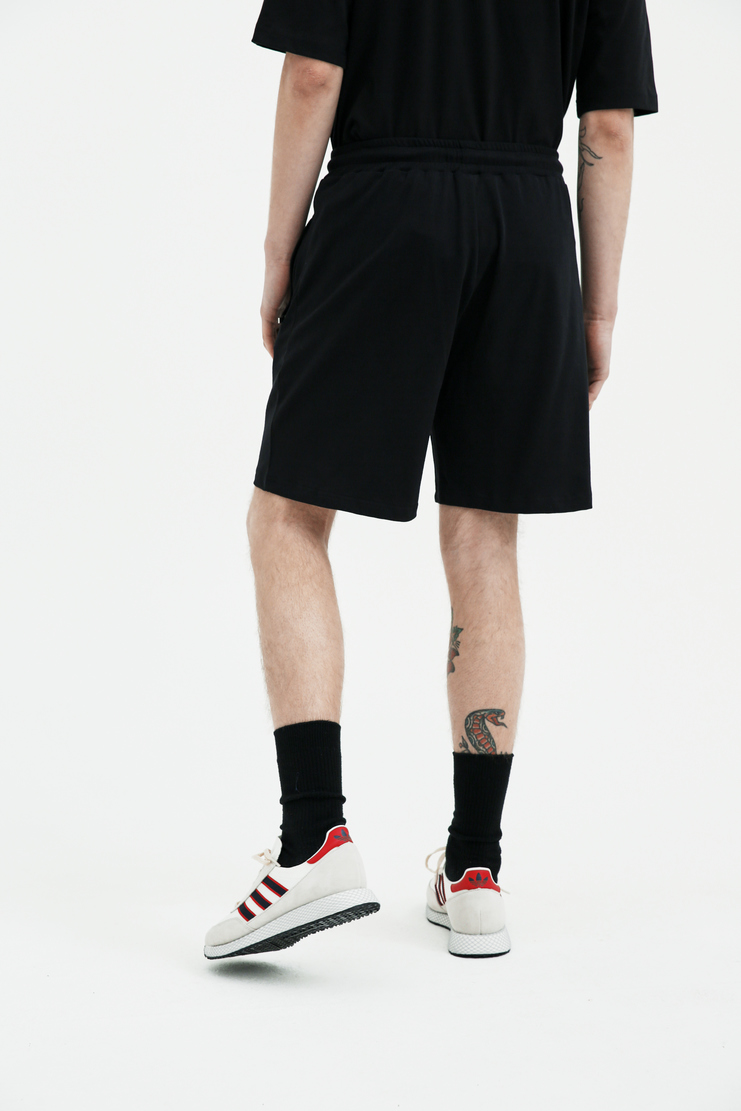 COTTWEILER black Dryland Shorts cotton lizard embroidery embroidered spring summer ss18 s/s 18 machine a CWST26