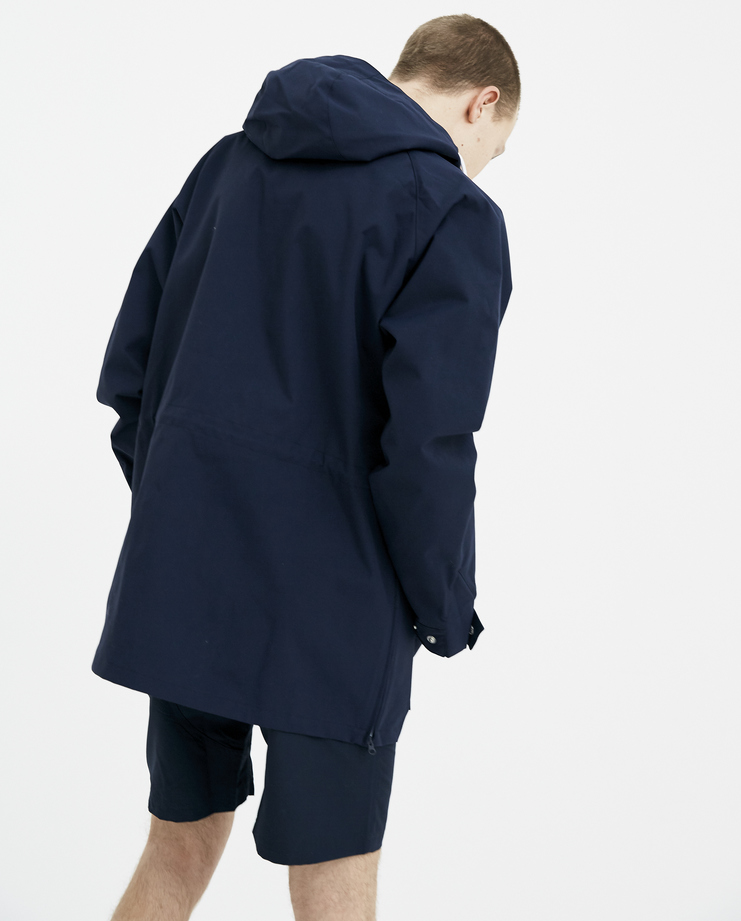 Adidas Spezial Black Harwood Smock Jacket S/S 18 spring summer collection Machine A SHOWstudio mens track jacket CF7298