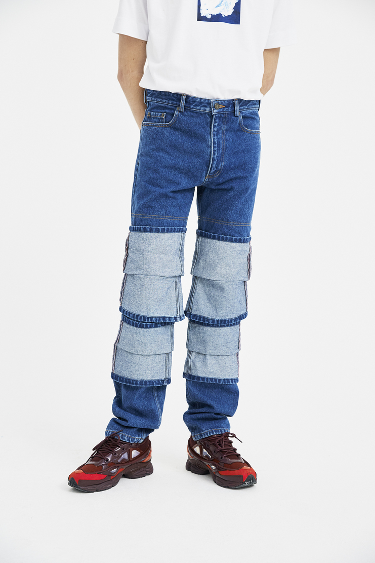 Y/Project Fold Up Jeans new arrivals S/S 18 spring summer 2018 mens fashion machine  a showstudio JEAN5-S14