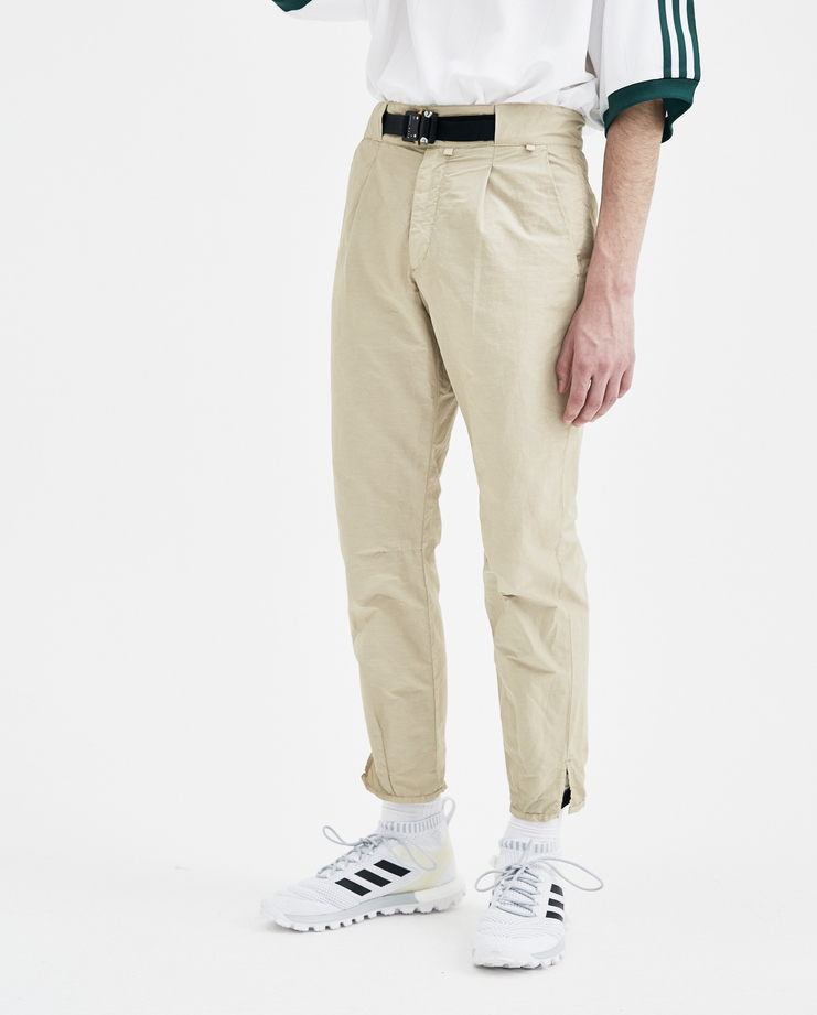 ALYX Tan Tailored Trousers mens AAMPA0021 SHOWstudio Machine A S/S 18 spring summer collection trouser pants bottoms