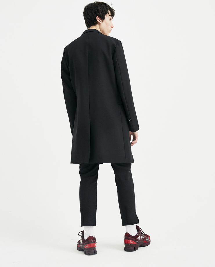ALYX Black Coat with Tech Vest AAMTA0008 mens S/S 18 spring summer collection Machine A SHOWstudio coats jackets