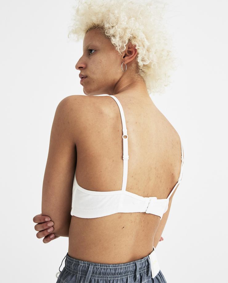 SIRLOIN White Bra D005 womens new arrivals S/S 18 spring summer collection underwear sirlion Machine A SHOWstudio lingerie bras