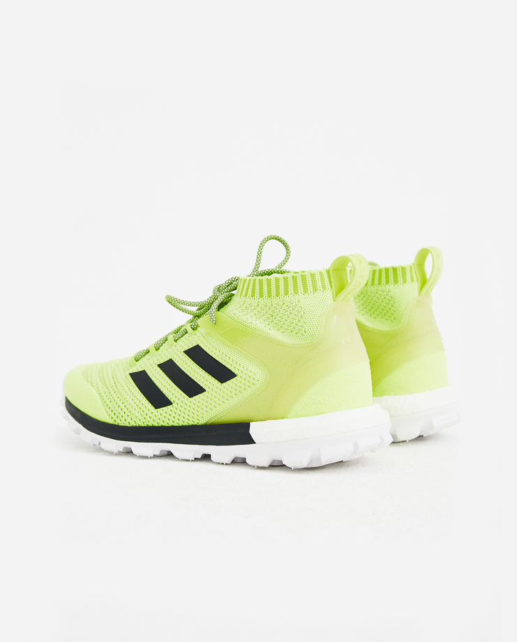 Adidas x Gosha Rubchinskiy Yellow Copa PK MID Sneakers spring summer S/S 18 collection Machine A SHOWstudio sneakers trainers shoes adidas collaboration G012SH12
