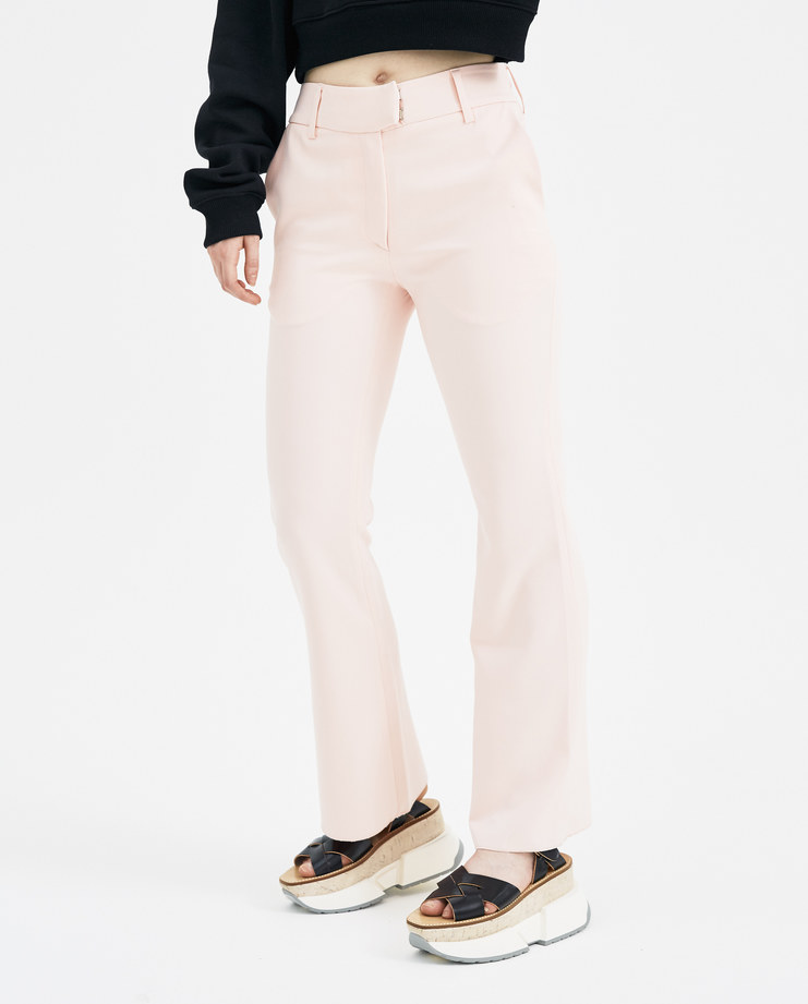 DELADA Baby Pink Suit Trousers S/S 18 spring summer collection DWS3TR02 Machine A SHOWstudio womens trouser pants