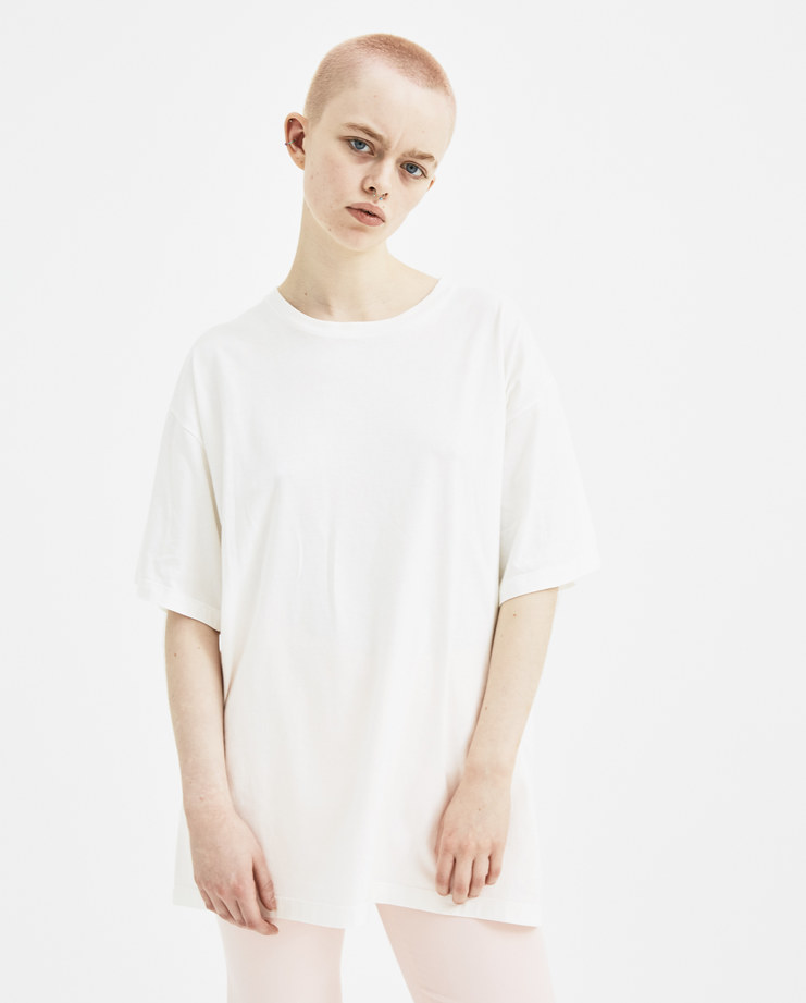 MM6 White Index T-shirt S32GC0483 new arrivals S/S 18 spring summer collection Machine A SHOWstudio womens t-shirts tops margiela