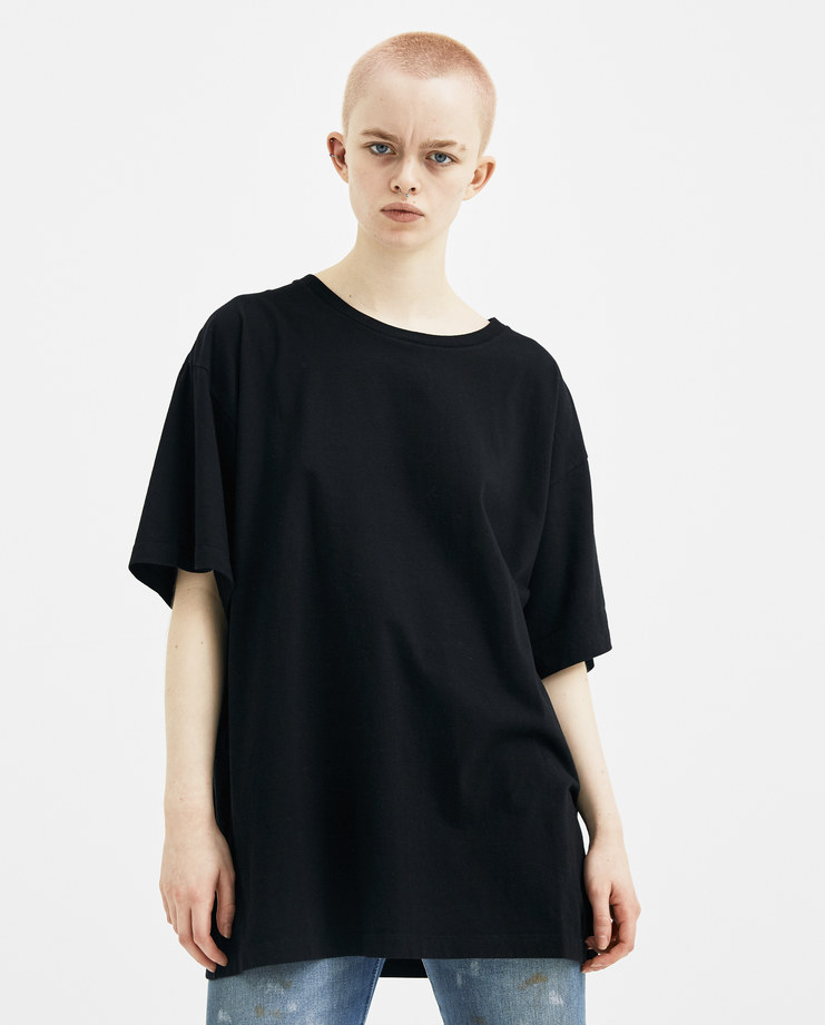 MM6 Black Index T-shirt S32GC0483 new arrivals S/S 18 spring summer collection Machine A SHOWstudio womens t-shirts tops margiela