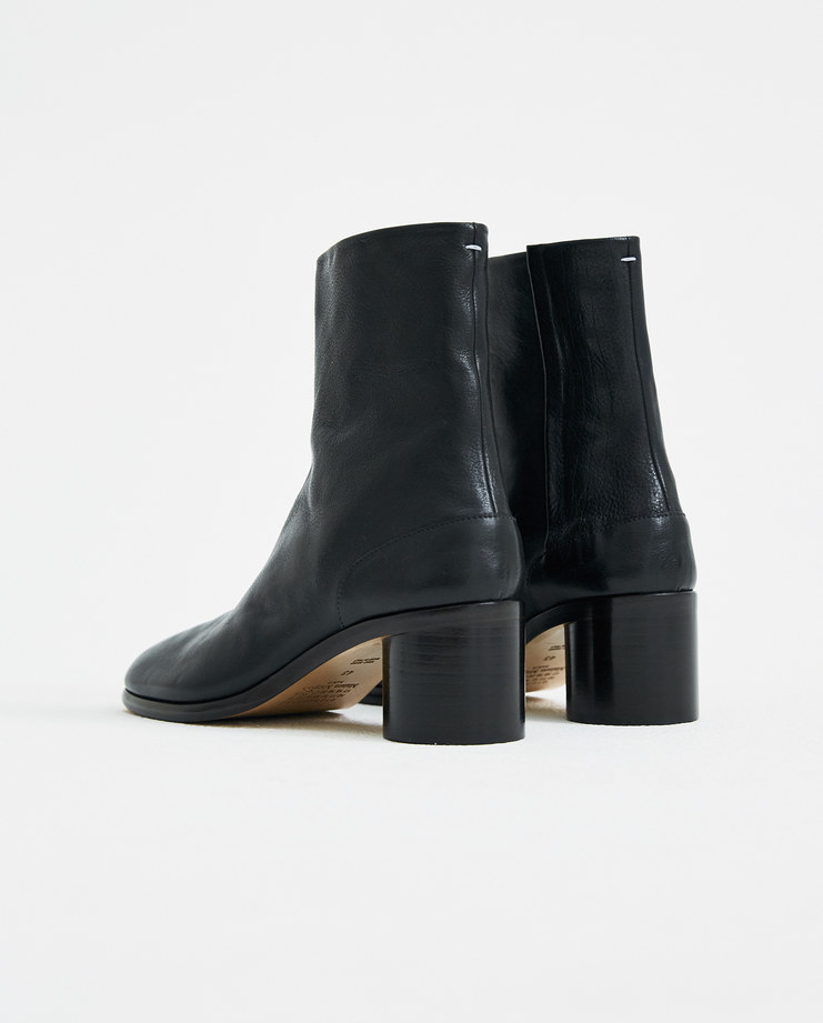 Maison Margiela Black Ankle Boots S37WU0310 new arrivals mens S/S 18 spring summer collection Machine A SHOWstudio tabi boots boot