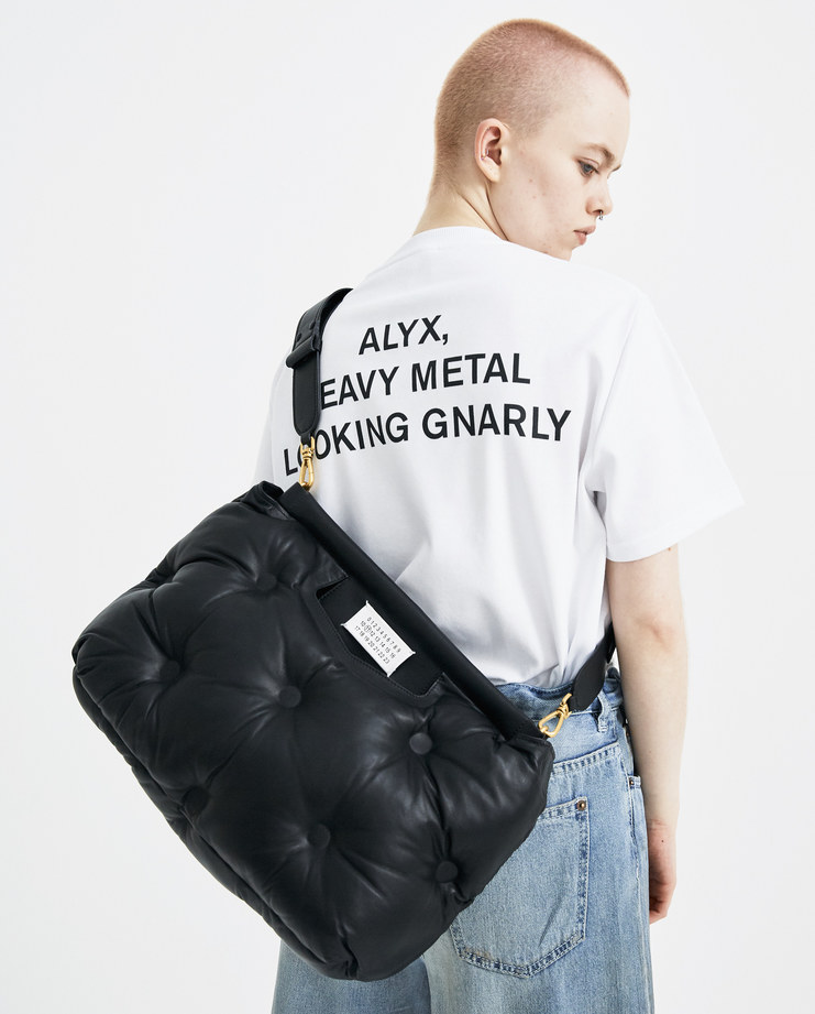 Maison Margiela Black Quilted Handbag  S61WD0026 new arrivals bags S/S 18 spring summer collection Machine A SHOWstudio