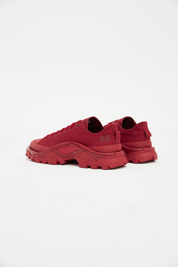 Adidas X Raf Simons Red RS Detroit Runner Trainers new arrivals s/s 18 spring summer 2018 B22521 showstudio machine a