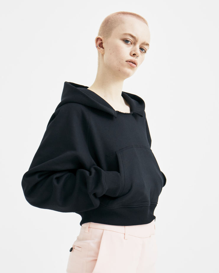 ALYX Black Multi Patch Hoodie New arrivals spring summer 2018 s/s 18 machine a showstudio womens jumpers hooded tops