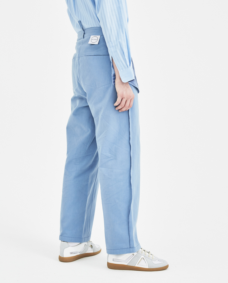 Per Götesson Inside Out Jeans INS003SS18 new arrivals mens light blue jeans S/S 18 spring summer collection Machine A SHOWstudio