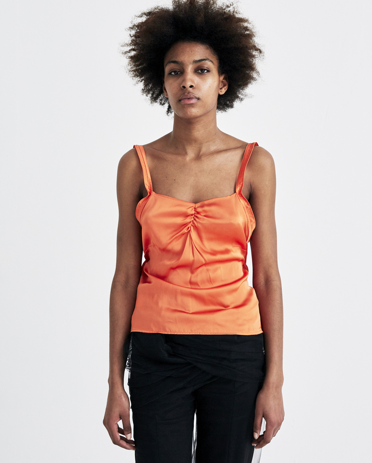 ALYX Orange Midnight Top new arrivals AAWTS0022A43 S/S 18 spring summer collection Machine A SHOWstudio womens tops