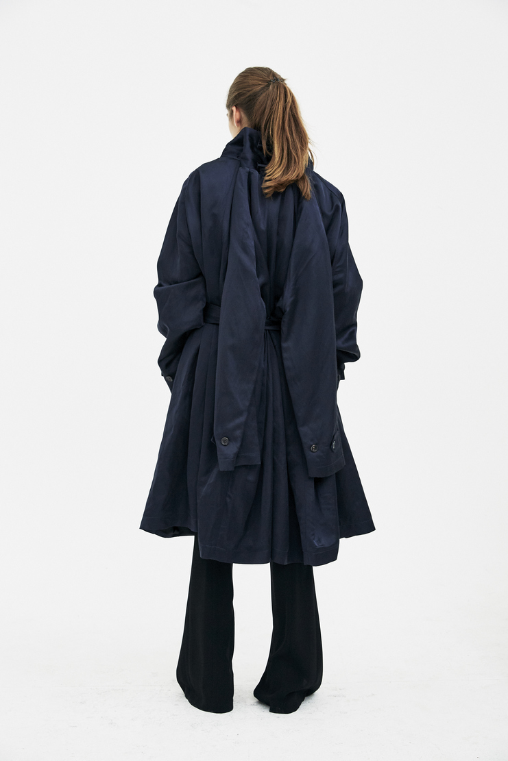 Y/Project Navy Jacket COAT11-S14 new arrivals spring summer S/S 18 collection womens Machine A SHOWstudio coats coat jacket