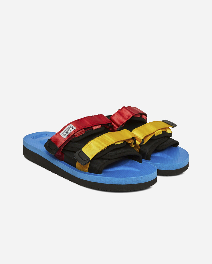 Suicoke Multicoloured Slides OG-056VEU new arrivals SS18 spring summer shoes mens womens SHOWstudio Machine A showstudio machine-a
