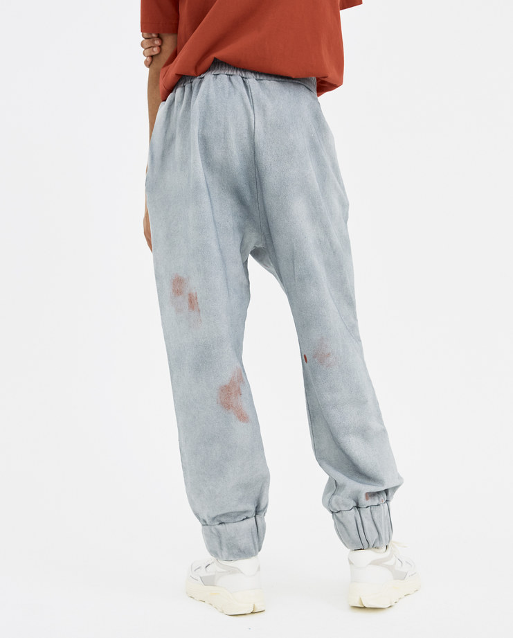 A-COLD-WALL* French Terry Seam Line Trousers T2 a cold wall new arrivals S/S 18 spring summer collection Machine A Machine-A SHOWstudio pants trouser bottoms