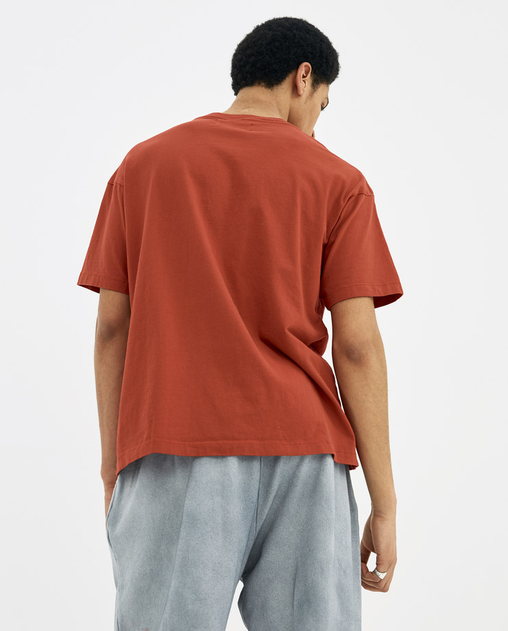 424 Red Today T-Shirt 424C-SS18-0036 SS18 spring summer machine-a Machine A SHOWstudio mens sportswear tops