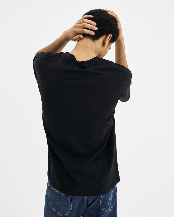 424 Black Honestee T-Shirt 424C-SS18-0038 SS18 spring summer machine-a Machine A showstudio SHOWstudio mens sportswear tops
