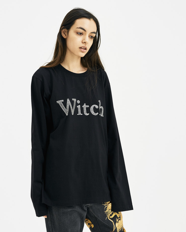 Ashish Long Sleeve Witch T-Shirt new arrivals womens Machine A Machine-A SHOWstudio S/S 18 spring summer collection