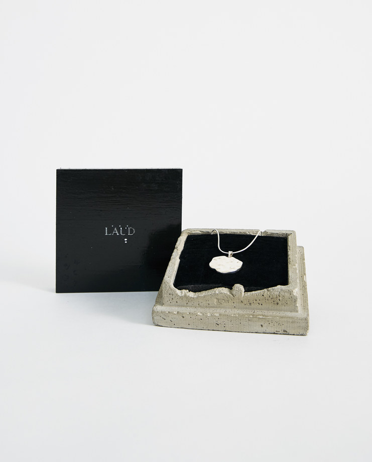 LAUD OBJECTS Silver Pendant Necklace PDNT001 new arrivals laud collection one  Machine A machine-a SHOWstudio jewellery accessories necklaces