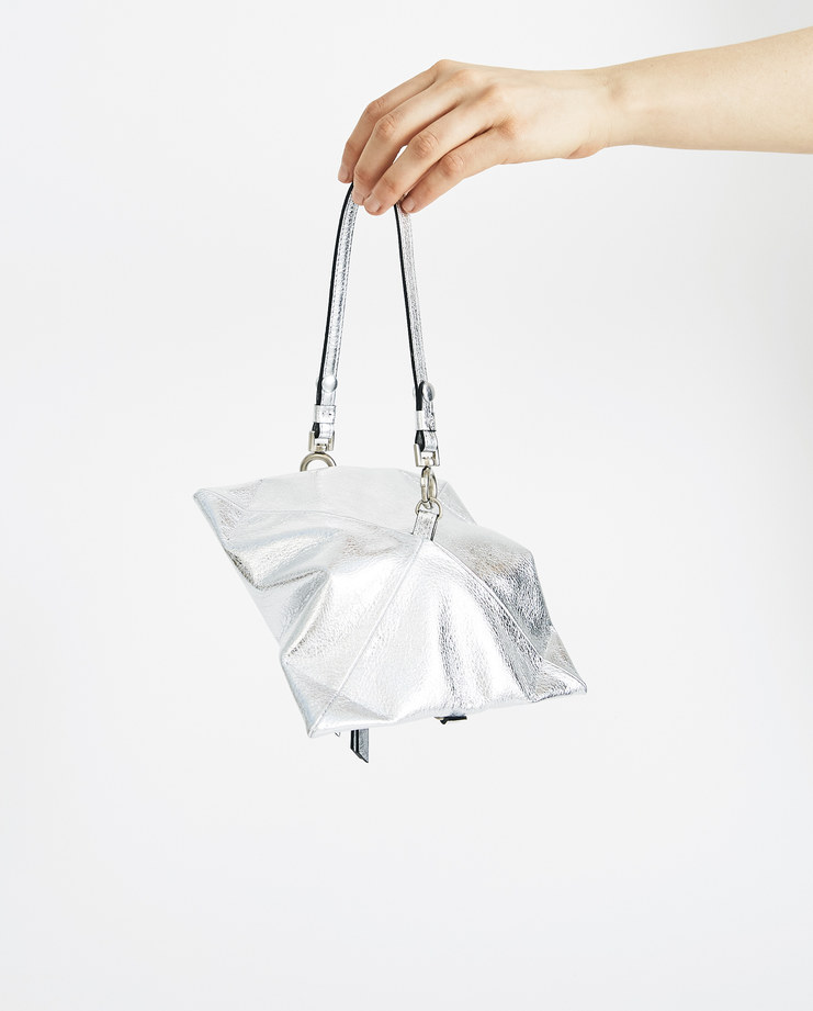 Maison Margiela Metallic Silver Pouch S56UI0098 accessories SS18 spring summer collection womens wallet Machine A SHOWstudio