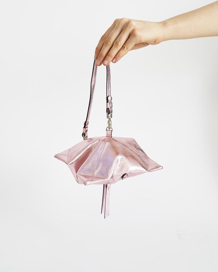 Maison Margiela Metallic Pink Pouch S56UI0098 accessories SS18 spring summer collection womens wallet Machine A SHOWstudio