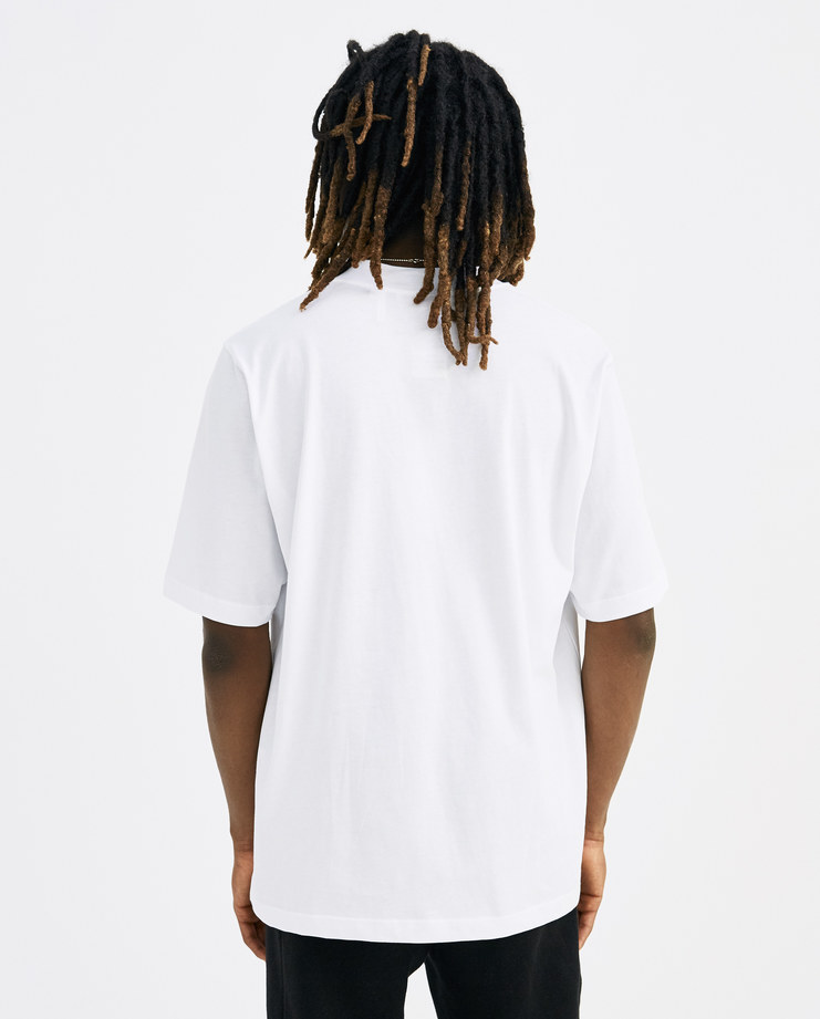Helmut Lang White Logo T-Shirt Mens new arrivals Spring summer 2018 SS 18 SHOWstudio Machine A I04HM502 tee short