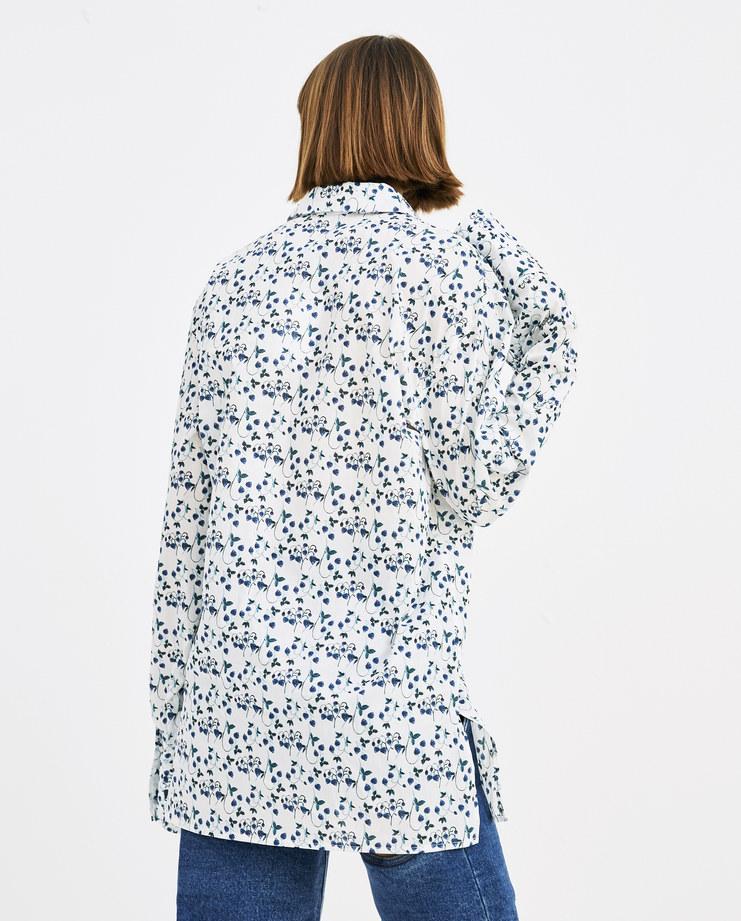 DELADA Strawberry Light Classical Shirt SH01 CO womens tops shirts SS18 spring summer showstudio machine a machine-a