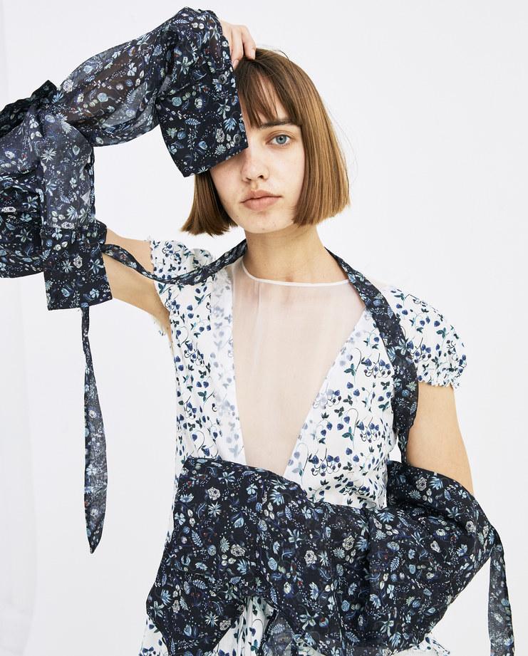 DELADA Floral Detachable Sleeves ACC1 CLASSIC SE womens fashion accessories SS18 spring summer SHOWstudio Machine A Machine-A