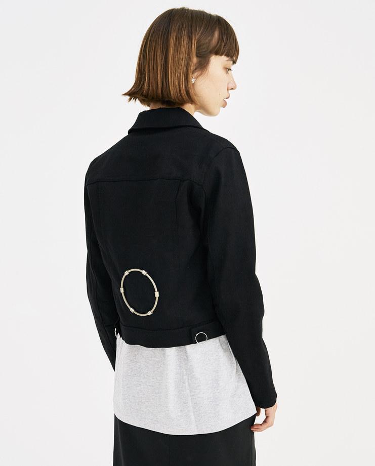 ALYX James Denim Jacket AAWOU0004A01 womens fashion black jacket SS18 spring summer showstudio machine a machine-a