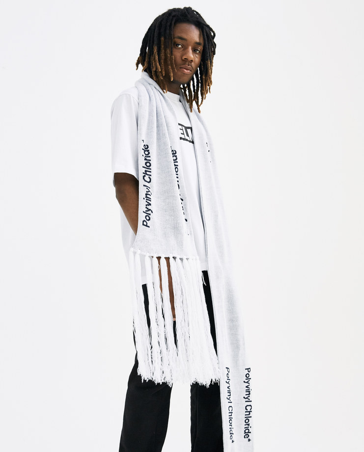 A-COLD-WALL* Grey Oversized Scarf SC2 new arrivals accessories SS18 spring summer collection showstudio machine-a machine a