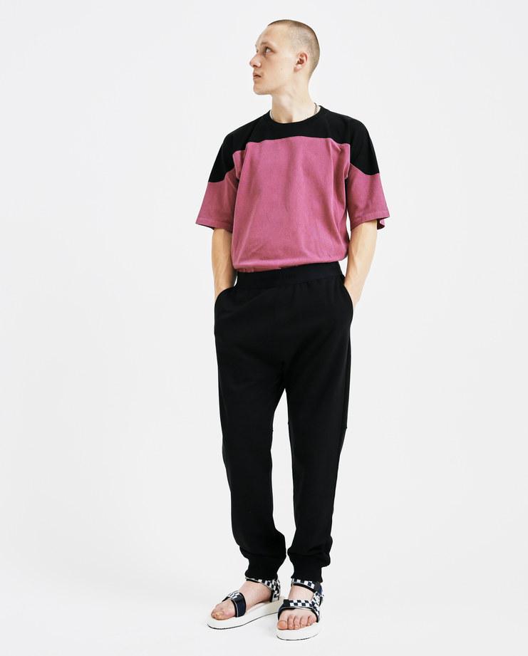 Helmut Lang Logo Elastic Sweatpants I05HM210 pants mens trousers black bottoms AW18 autumn winter showstudio machine a