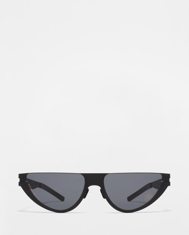 MYKITA X Martine Rose Kitt Sunglasses cat eye shape raver sunglasses glasses aw18 eyewear shades mikyta matine machine-a showstudio black
