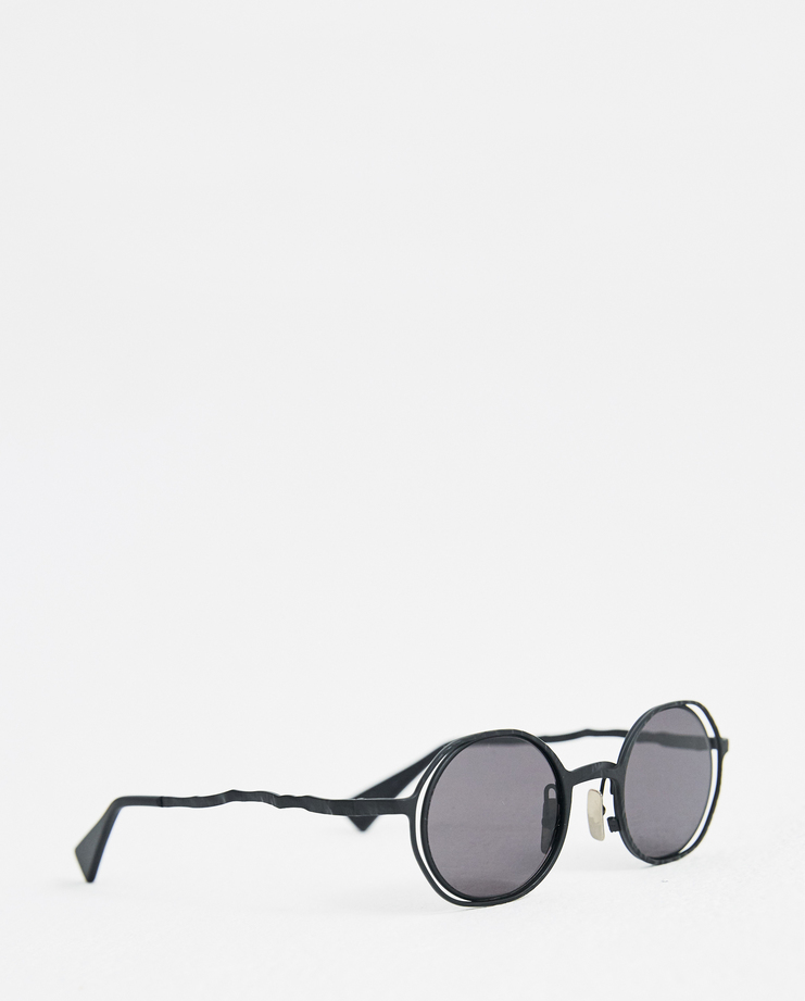 Kuboraum 'H11' Round Frame Sunglasses German Berlin Menswear Womenswear Sunglasses Glasses Accessories Contemporary Fashion A/W 18 AW18