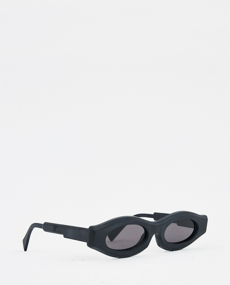 KUBORAUM Y5 Brown Flat Skinny Sunglasses Y5 HBS new arrivals cat eye sunglasses Machine A Machine-A SHOWstudio mask kuboram koboraum narrow